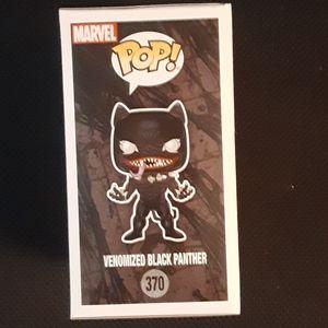 Funko Accents - Gamestop Exclusive Venom As Black Panther Pop